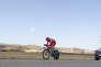 Christopher Froome, lors de la Vuelta, le 5 septembre 2017, à l'avant-veille de son contrôle anormal au salbutamol.