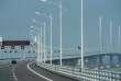Sur le pont Hongkong-Zhuhai-Macao, le 28 mars.