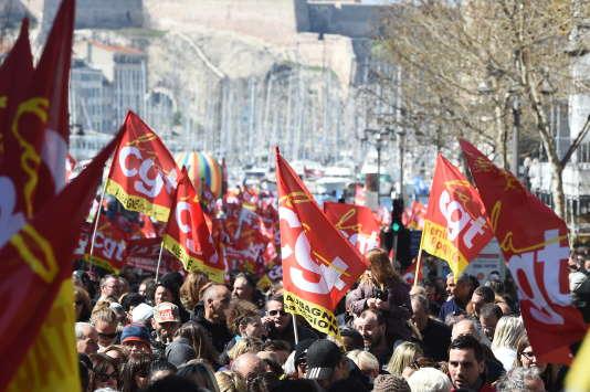 Après la mobilisation du 22 mars,de nouvelles grèves vont avoir lieu à partir de mardi 3 avril.