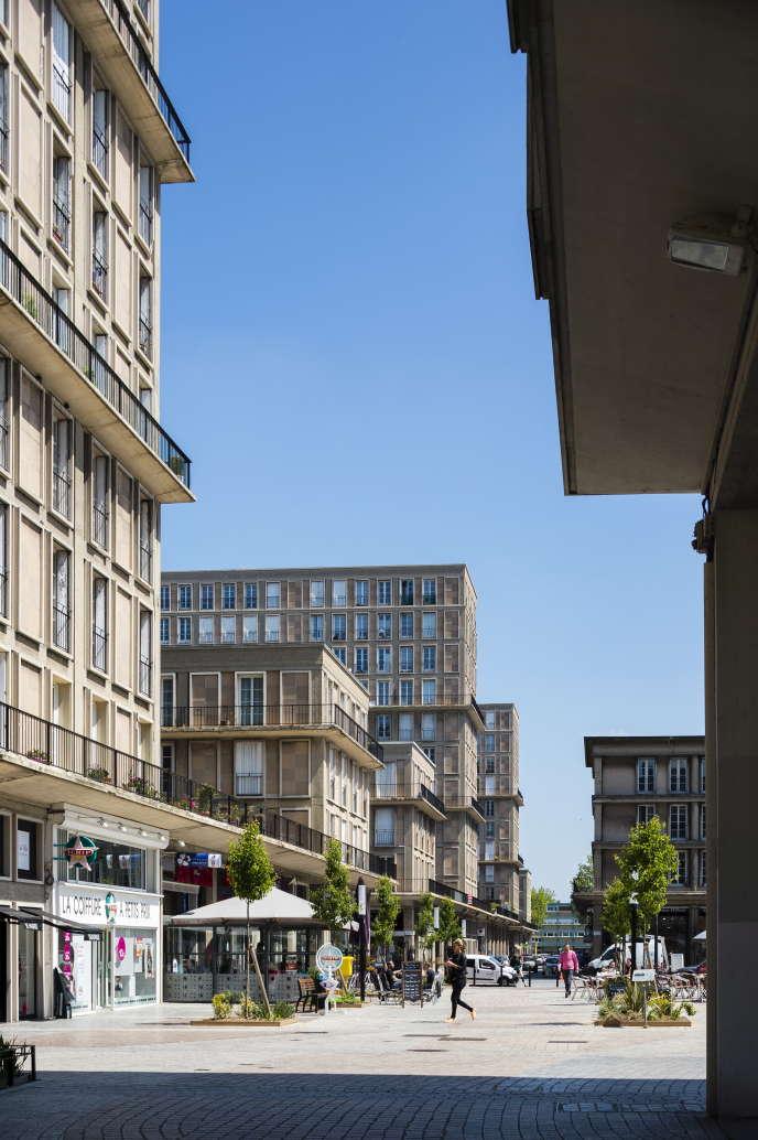 Au Havre, ville redessinée après la guerre par l'architecte Auguste Perret, l'achat est rentabilisé en moins de cinq ans, selon Meilleurtaux.