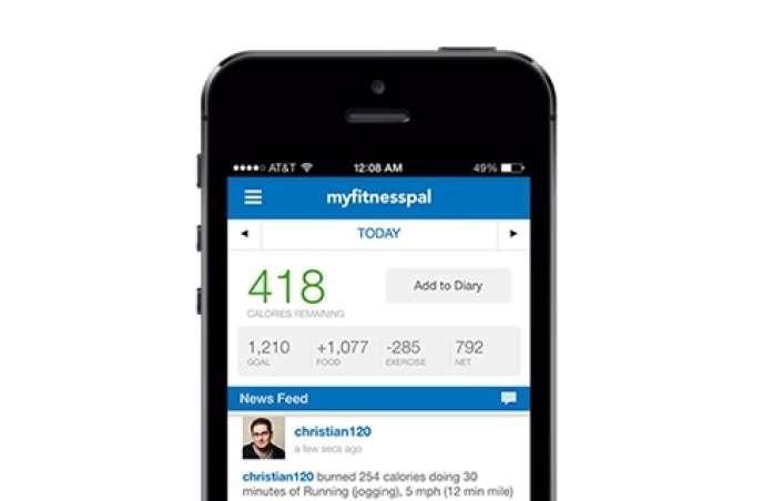 MyFitnessPal est un site et une application appartenant à l'entreprise Under Armour.