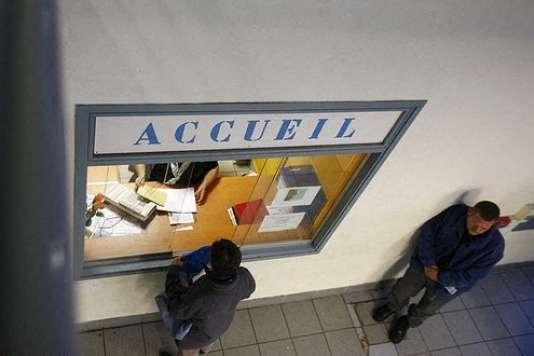 Centre d'accueil des sans-abri, à Lyon.