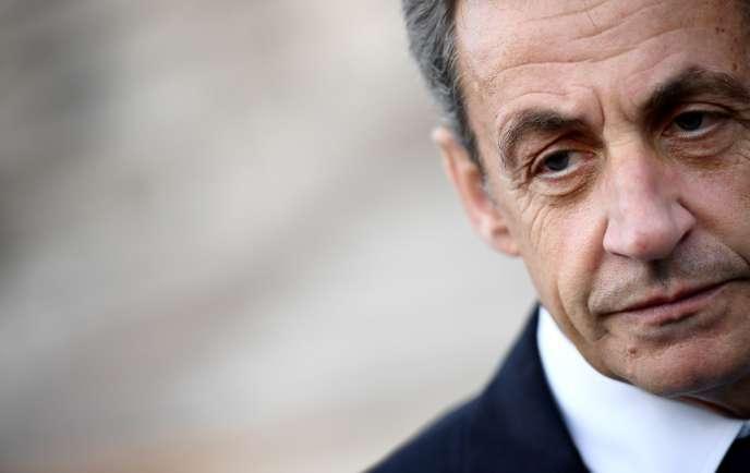 L'ancien président de la République, Nicolas Sarkozy, à Paris, le 14 mai 2017.