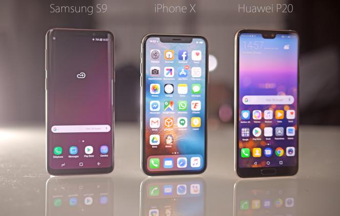 Trois mobiles sortis en 2017, sans doute la dernière année excitante pour les passionnés de smartphones.