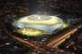 Maquette du YelloPark, (peut-être) futur stade du FC Nantes, présentée jeudi 29mars.