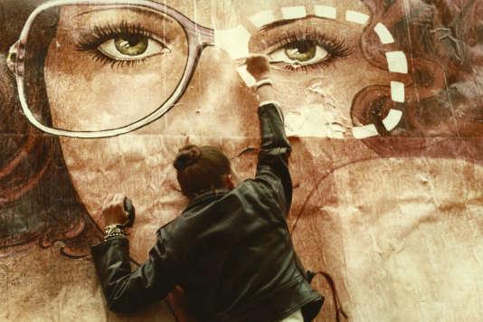 Pascale Ogier dans « Le Pont du Nord » (1981), de Jacques Rivette.