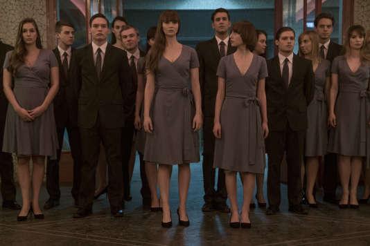 Jennifer Lawrence (au centre) interprète Dominika Egorova dans« Red Sparrow», de Francis Lawrence.