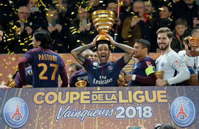 Le PSG a remporté la dernière édition de la Coupe de la Ligue.