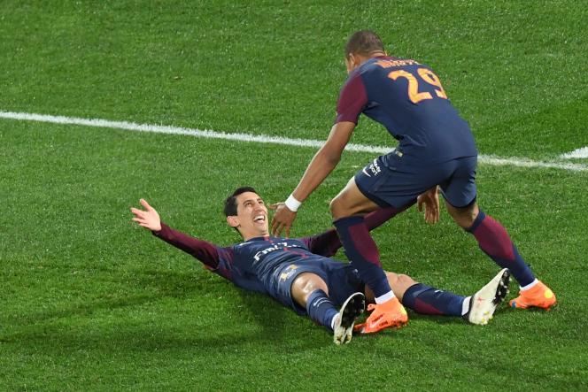 Le PSG d'Angel Di Maria a battu (2-0) Monaco, samedi 31 mars, en finale de la Coupe de la Ligue.