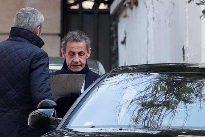 Nicolas Sarkozy, à Paris, le 21 mars.