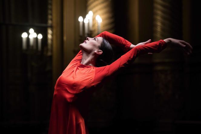 Marie-Agnes Gillot à l'Opéra Garnier à Paris, le 15 mars.