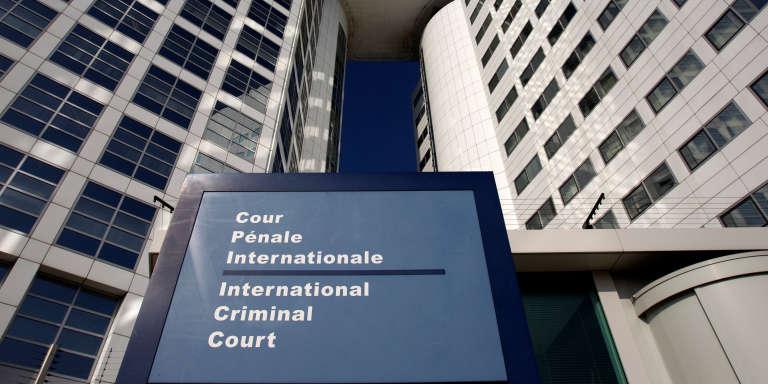 La Cour pénale internationale, à La Haye, au Pays-Bas.