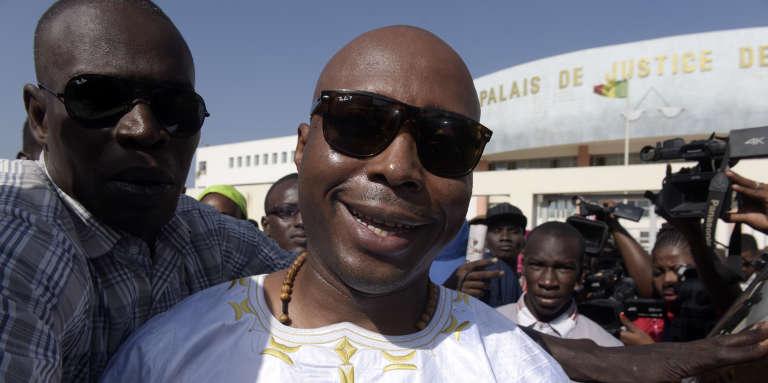 L'ancien député Barthélémy Dias, à Dakar, en décembre 2017.