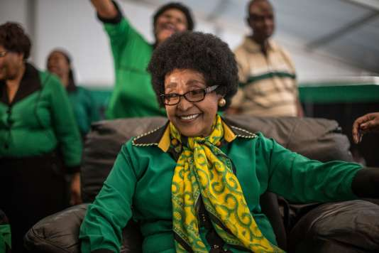 Winnie Mandela, le 26 septembre 2016.