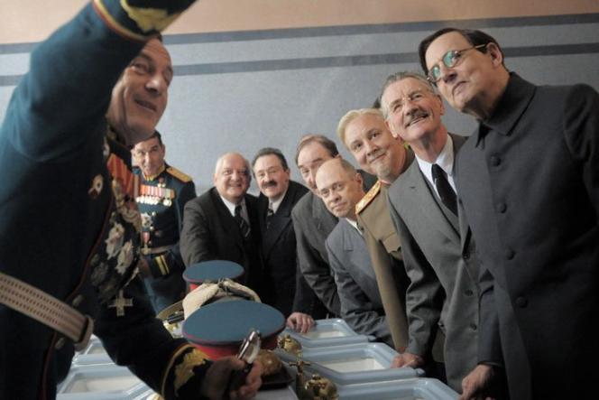 « La Mort de Staline» d'Armando Ianucci, avec notamment Steve Buscemi, Simon Russell Beale et Jeffrey Tambor.