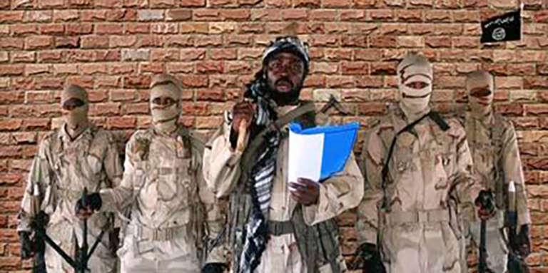 Le leader de Boko Haram Abubakar Shekau dans une vidéo datée du 15 janvier 2018.