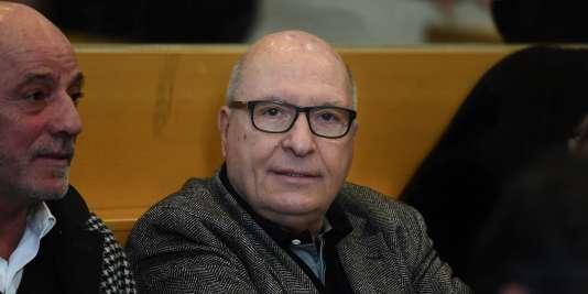 Jacques Cassandri dans le box des accusés, à Marseille, le 12 février 2018.