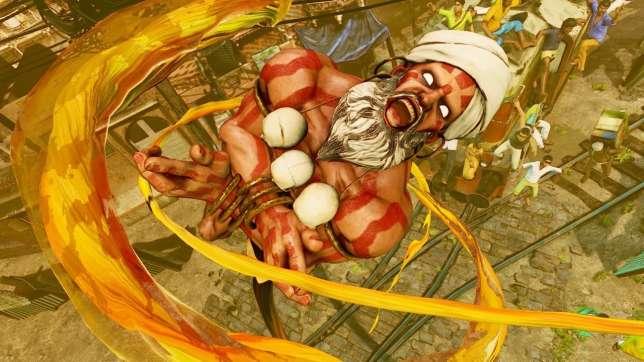 Dhalsim, exemple le plus célèbre de personnage indien présenté de manière exotique.