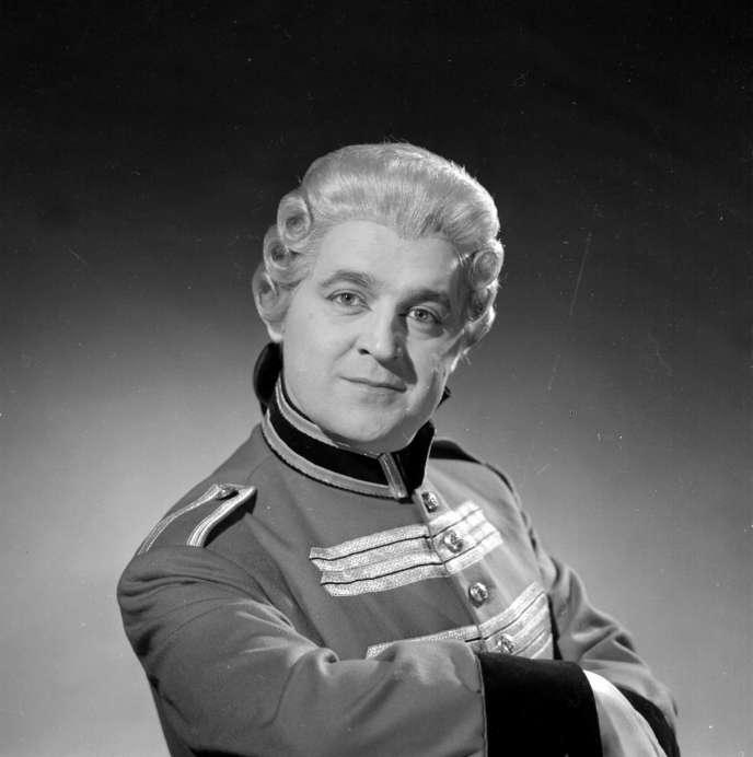 Michel Sénéchal, ténor français, est mort le 1er avril à l'âge de 91 ans.
