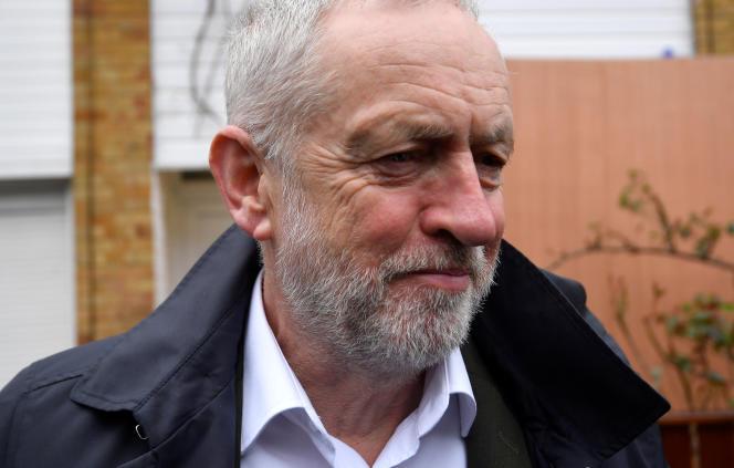 «Avec près de 600 000 adhérents, le Labour est maintenant le plus grand parti de gauche en Europe» (Jeremy Corbyn à Londres le 3 avril).
