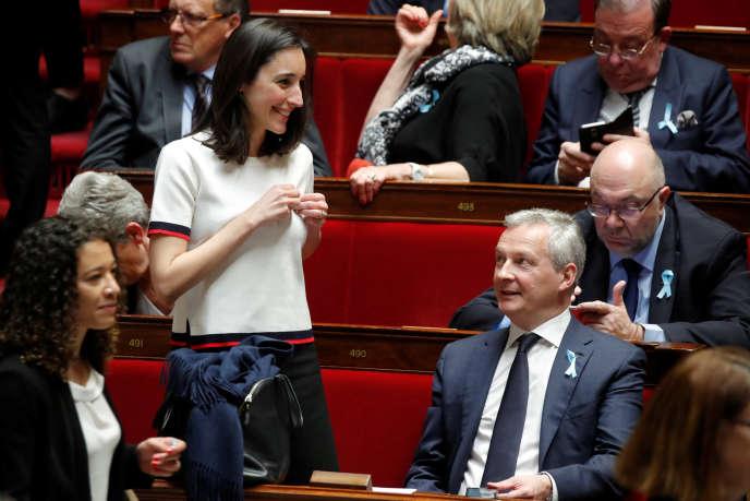 Bruno Le Maire à l'Assemblée nationale, le 3 avril.