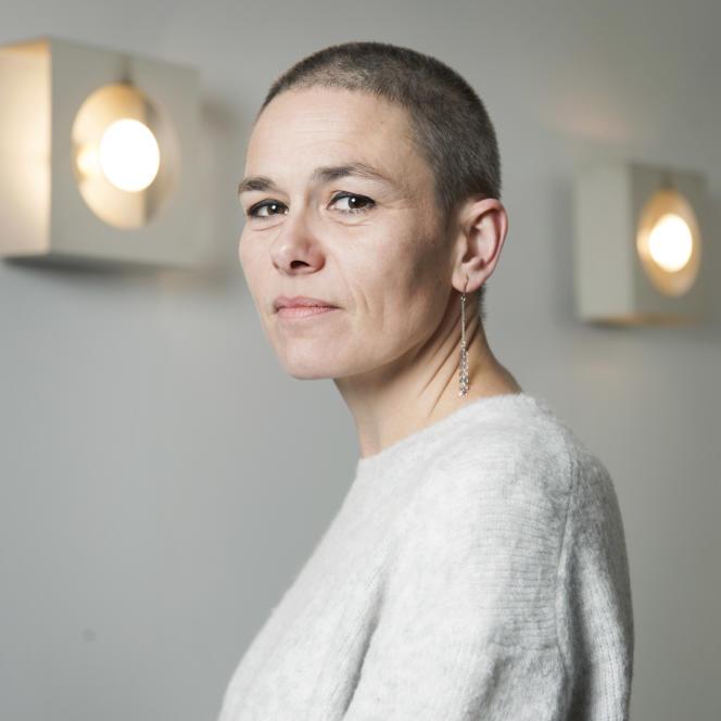 Fanny Chiarello, dans les locaux de L'Olivier, le 18décembre2017.