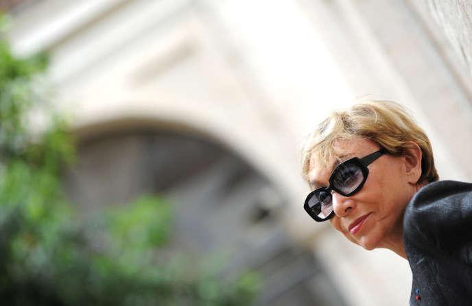 Julia Kristeva à Rome, en juin 2010.