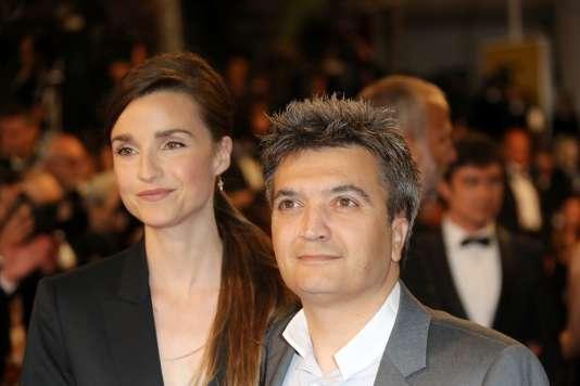 Céline Bosquet et son mari Thomas Langmann lors du Festival de Cannes en mai 2016.
