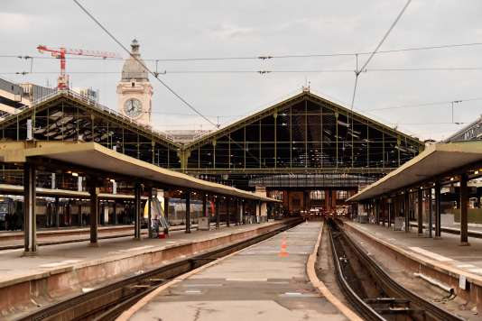 Gare de Lyon, mardi 3 avril.
