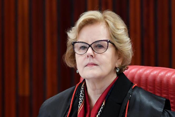La juge Rosa Weber, le 4 avril 2017, à Brasilia.