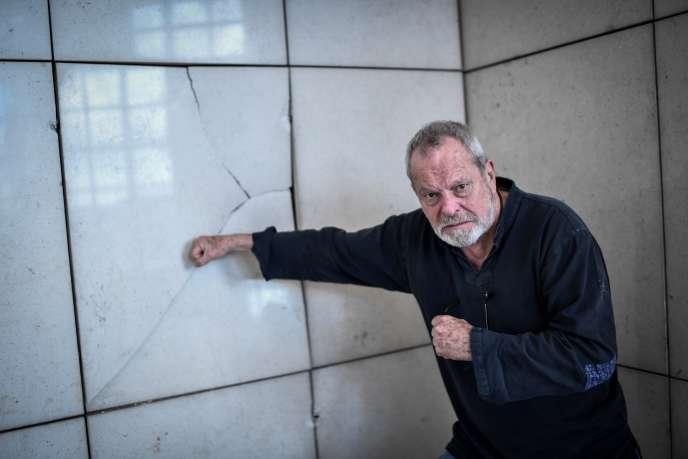 Terry Gilliam à l'Opéra Bastille, à Paris, le 13 mars.