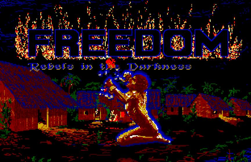 Le jeu martiniquais « Freedom», en 1988, pionnier avant-gardiste du jeu vidéo postcolonial.
