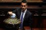 Luigi Di Maio, chef de file du Mouvement 5 étoiles, à la Chambre des députés, à Rome, le 23 mars.