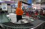 A la World Robot Conference, à Pékin, le 4 avril.