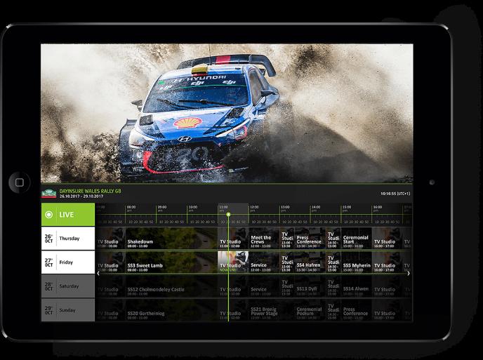 Capture d'écran WRC+ le 4 avril.