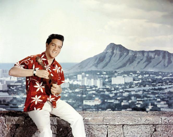 Elvis Presley (ici dans le film«Blue Hawaii» en 1961) a été le premier à populariser la chemise hawaïenne.