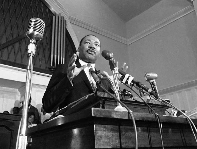 Martin Luther King à Atlanta en 1960.