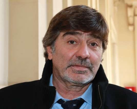 Michel Neyret, à son arrivée au tribunal, le 4 avril, pour son procès en appel.