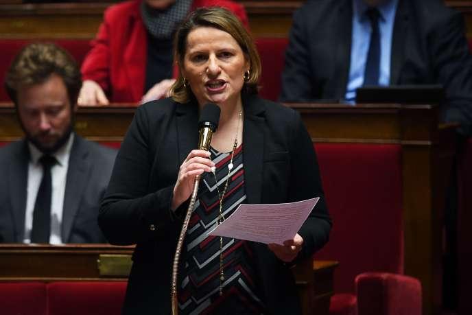 Valérie Rabault, députée Nouvelle Gauche de Tarn-et-Garonne, à l'Assemblée nationale, le 30 janvier.