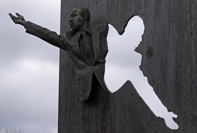 Le parc Martin Luther King, à Indianapolis.