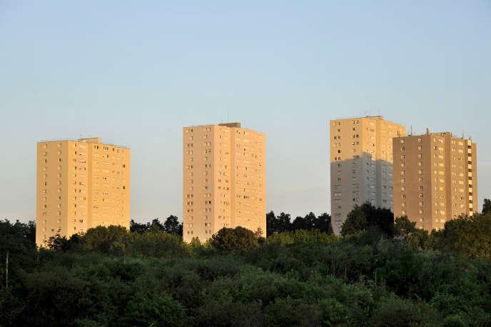 Immeubles HLM du quartier Port-Boyer, à Nantes.