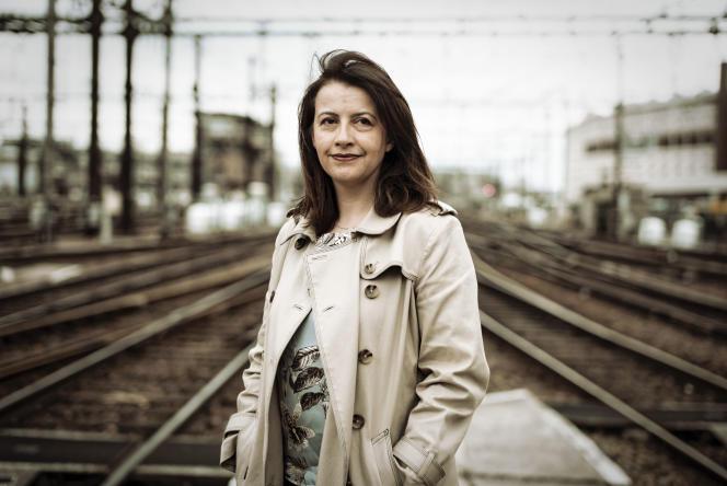 Cécile Duflot, à Paris, le 3 avril.