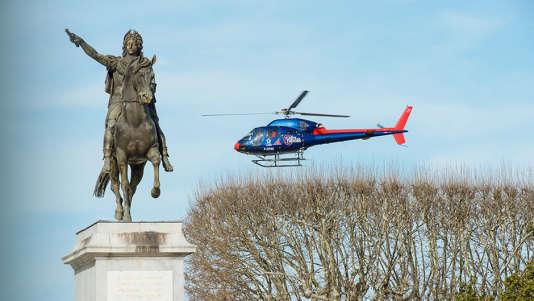 Des hélicoptères biturbines survoleront les villes.