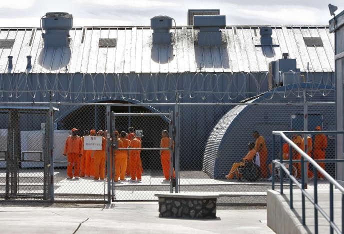 A la prison d'Etat de Florence (Arizona), en novembre 2009.