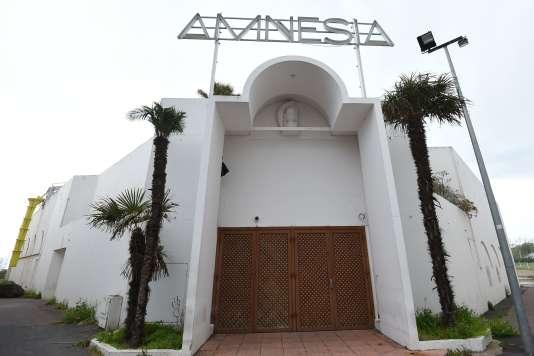 """La discothèque """"Amnesia"""", gérée par Gregory Boudou, au Cap d'Agde ( Hérault), le 4 avril."""