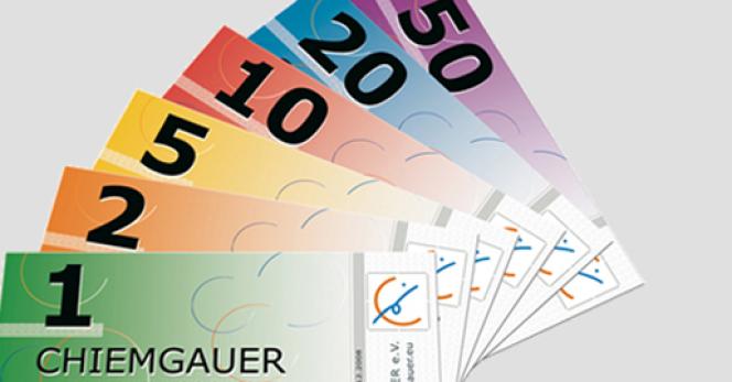 Le chiemgauer, lancé en 2003, est la seule monnaie locale ayant réussi à s'installer de manière pérenne outre-Rhin.