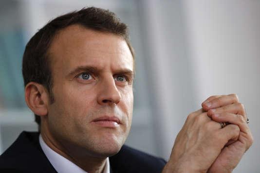 Le président français Emmanuel Macron le 5 avril 2018.
