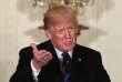Le président américain, Donald Trump, lors d'une conférence de presse à la Maison Blanche, à Washington, le 3 avril.