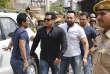 Salman Khan à son arrivée au tribunal de Jodhpur, au Rajasthan, le 5 avril 2018.