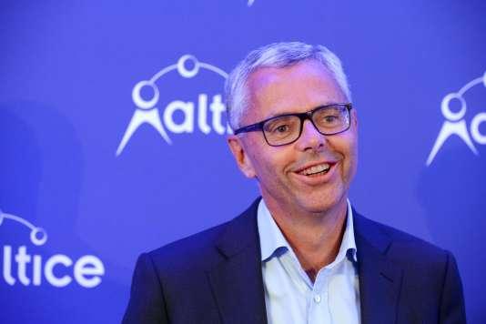 Michel Combes, à Paris, en septembre 2016.